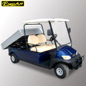 Made in China Ce Approved Electric Utility Golf Buggy with Cargo pictures & photos