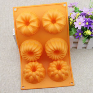 Factory Supplier FDA/LFGB Food Grade Silicone Cake Sheet 3 Patterns in 1 pictures & photos