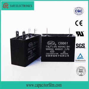 Cbb61 AC Motor Run Metallized Polyester Film Motor Capacitor pictures & photos
