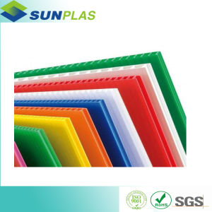 PP Hollow Sheet (Correx Sheet) Used for Printing, Construction pictures & photos