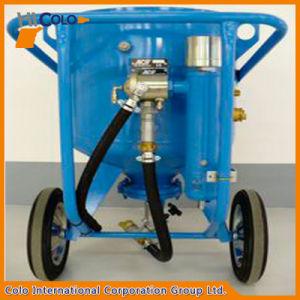 High Pressure Mobile Abrasive Blasting Pot pictures & photos