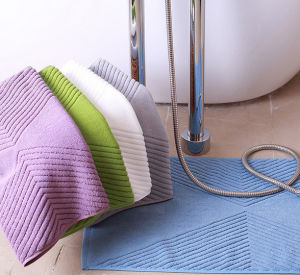 Wholesale Pure Cotton Floor Towels for Hotel Bathroom pictures & photos