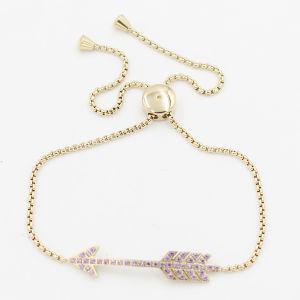 CNC Stone Arrow Charm Bracelet Fashion Jewelry pictures & photos