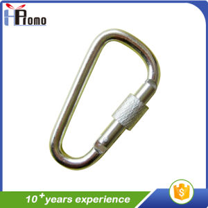 Silver Carabiner Style Key Chain