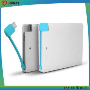 Super Slim Credit Card Portable Power Bank 2500mAh pictures & photos