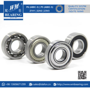 6204 Zz 2RS High Speed Spindle Radial Ball Bearing pictures & photos