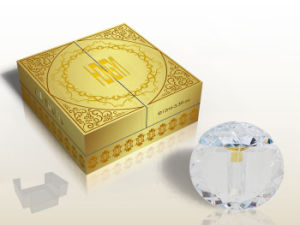 Cardboard Golden-Hotstamping for Gift Paper Box, Perfume Box