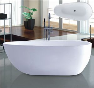 New 1700mm Ellipse Freestanding Bathtub SPA for Villa (AT-6181) pictures & photos