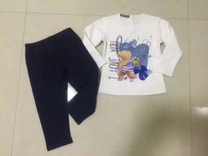 Bear Boy Baby Clothes in Children Kids Wear Sq-17110
