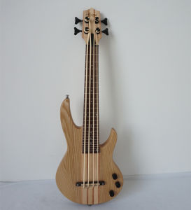 China Aiersi Solid Ash Wood Body Bass Ukulele Electrical Ukulele pictures & photos