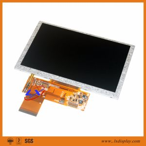 18 LEDs 500nits Brightness 5 inch 800*480 TFT LCD Display Module pictures & photos