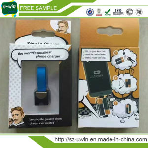 Smallest Portable Mobile Phone Charger for Christmas Gifts pictures & photos