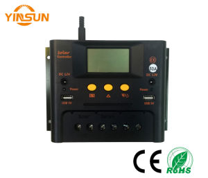 Solar Charger Controller, 50A 48V Automatic Transfer, USB 5 Output, DC12V Output, LCD Display, pictures & photos