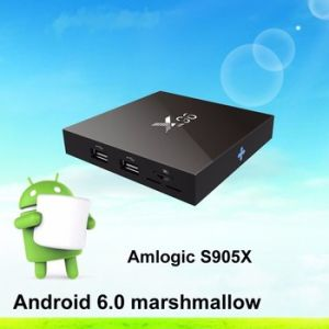 X96 Android 6.0 TV Box Amlogic Quad Core TV Box 6.0 Android TV Box Amlogic S905X X96 Android Media Player Provide OEM ODM pictures & photos