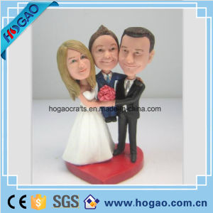 Polyresin Bobble Doll, 3D Family Portrait (H014) pictures & photos