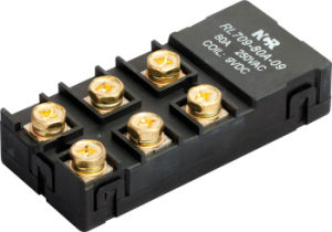 60A 24V Magnetic Latching Relay (NRL709A) pictures & photos