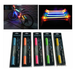 Colorful Bundled LED Bike Bicycle Safety Warning Lamp Stick Light pictures & photos