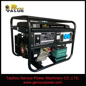 6.5kw Power Engine 190f Gasoline Generator pictures & photos