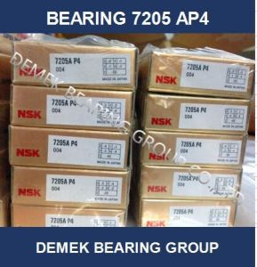 NSK High Precision Spindle Angular Conatact Ball Bearing 7205 Ap4 pictures & photos