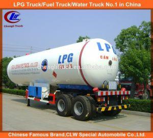 Heavy Duty 2 Axles 40cbm/20t LPG Tanker Semi Trailer pictures & photos