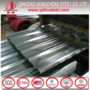 ASTM A792 Corrugated Steel Galvalume Roofing Sheet pictures & photos