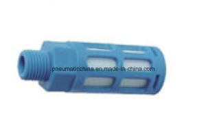 Plastic Silencer with Filter Core Inside, Muffler pictures & photos