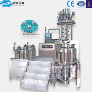 Jinzong GMP Standard Vacuum Emulsifying Mixer Cosmetic Agitator pictures & photos
