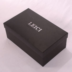 Men Shoe Gift Packing Box with Silk-Screen Printing Logo pictures & photos