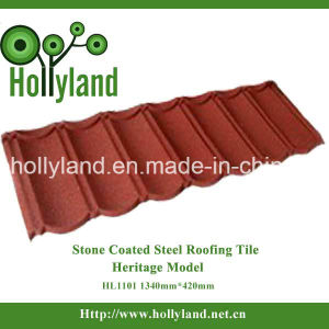 Colored Stone Coated Metal Roof Tile (Classical Type) pictures & photos