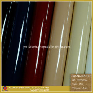 Waterborne Patent, Mirror, Enamel PU Eco-Friendly Leather (EF005) pictures & photos