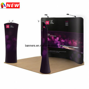 8FT Curved Tension Fabric Trade Show Displays pictures & photos