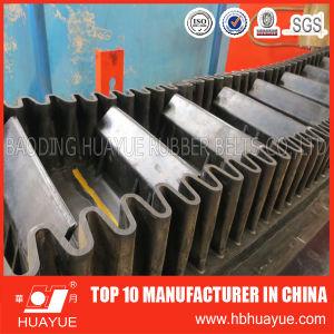 Corrugated Sidewall Conveyor Belt, Cleats Conveyor Belt pictures & photos