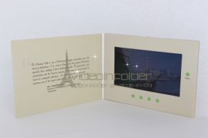 Advertising Player, LCD Video Brochure, Video Mailer 4.3inch-10inch Customzied Touchscreen