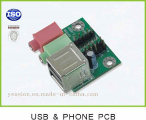 Wholesale PCB for USB&Phone 2 Pin