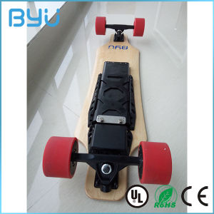New Powerful Dual in-Wheel Motor Electric Skateboard pictures & photos