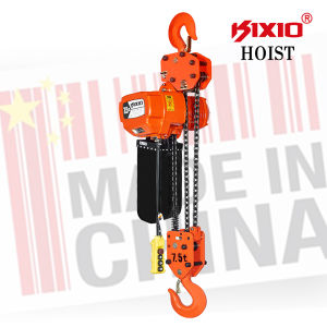 7.5 Ton Electric Chain Cable Hoist with Hook pictures & photos