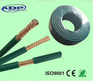 High Quality Ce Certificate Green PVC Jacket Kx6 Coaxial Cable pictures & photos