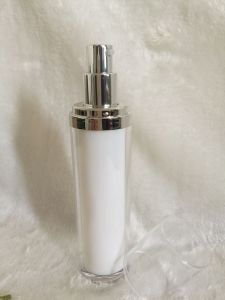 acrylic Round Lotion Bottles for Cosmetic Packaging pictures & photos
