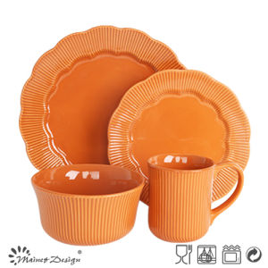 16PCS Embossed Dinner Set Wholesale pictures & photos