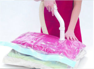Rose Smell Clothes Package Vacuum Storage Bag pictures & photos