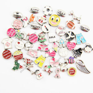 2015 Fashion Jewelry Mini Floating Locket Charms for Gift (FC)