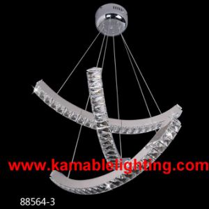Stainless Steel Crystal LED Lamp (Kam88564-3) pictures & photos