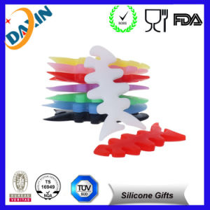 Fashion Fishbone Shape Silicone Cable Winder pictures & photos