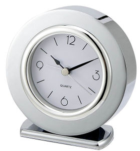 Round Shape Alarm Clock with Base pictures & photos
