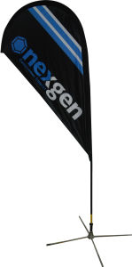 Tear Drop Flag Banner for Outdoor Display pictures & photos