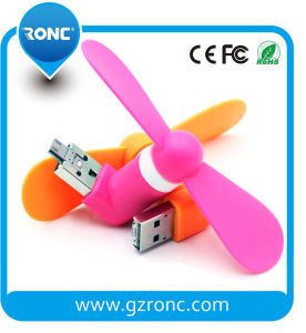 Portable Mini Handheld Mini Fan for Ios/Android Phone pictures & photos