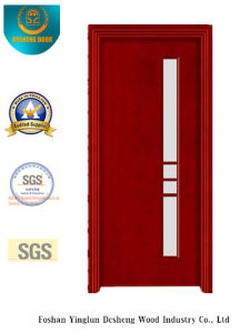 Simplestyle Security Steel Door with Glass (S-1028) pictures & photos