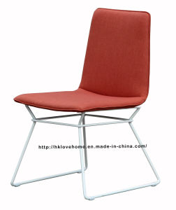 Replica Modern Dining Coffee Restaurant Metal Wire Upholstered Chairs pictures & photos