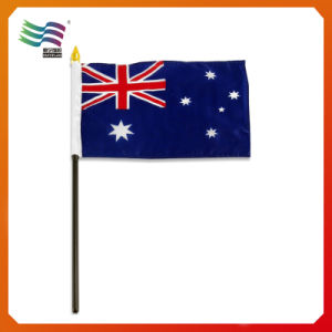 Wholesale Hand Custom Country Promotion Hand Flag (HYHF-AF063) pictures & photos