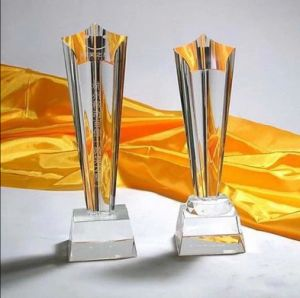 Customized Acrylic Trophy Crafts Crystal Awards Free Logo pictures & photos